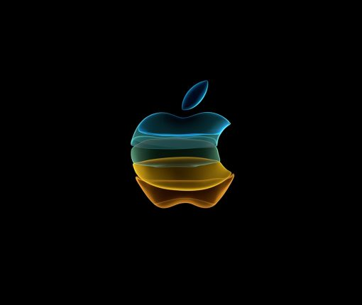 Banner shown at the 'By Innovation Only' Apple Event