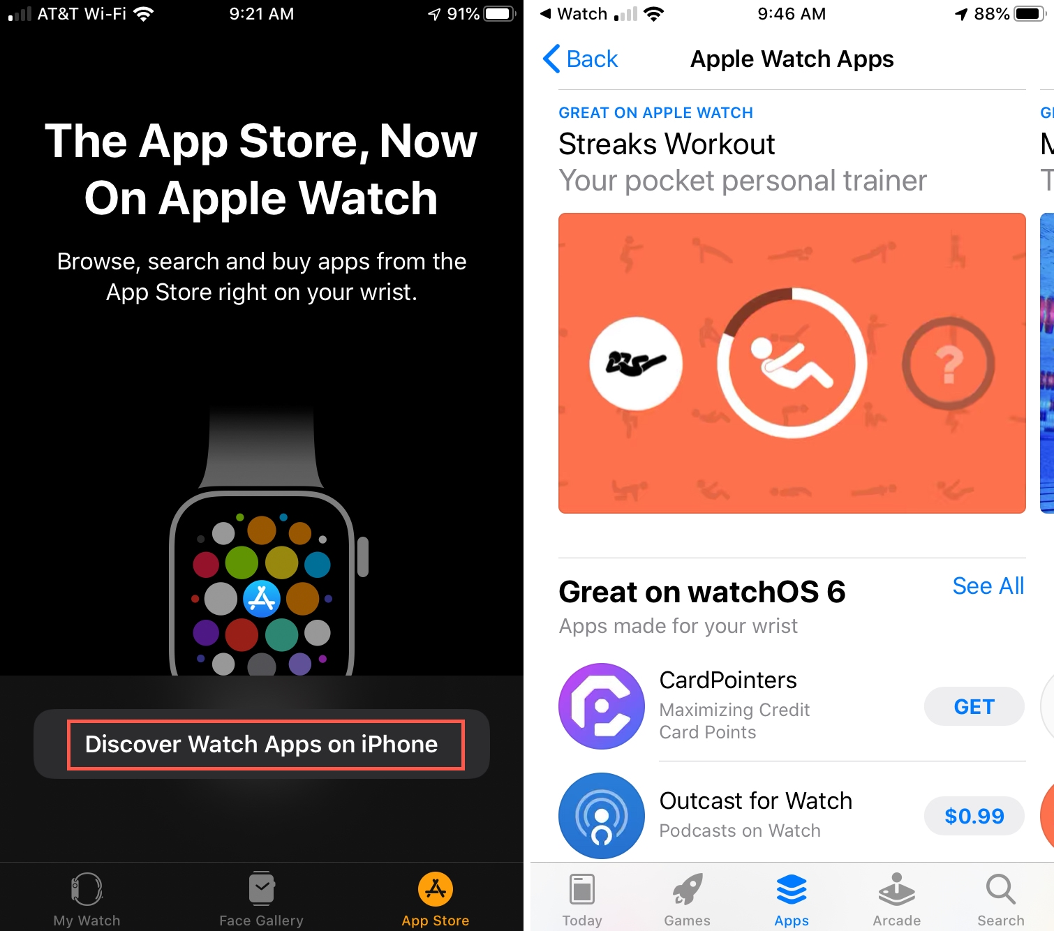 Apple Watch App Store Watch App