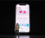 The new Research App for iOS connected with the Apple Watch
