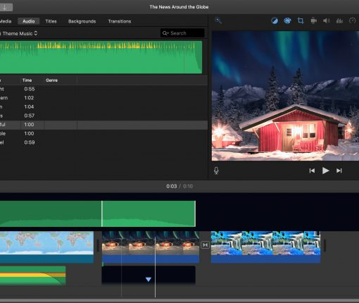 Edit Audio Clips in iMovie Mac