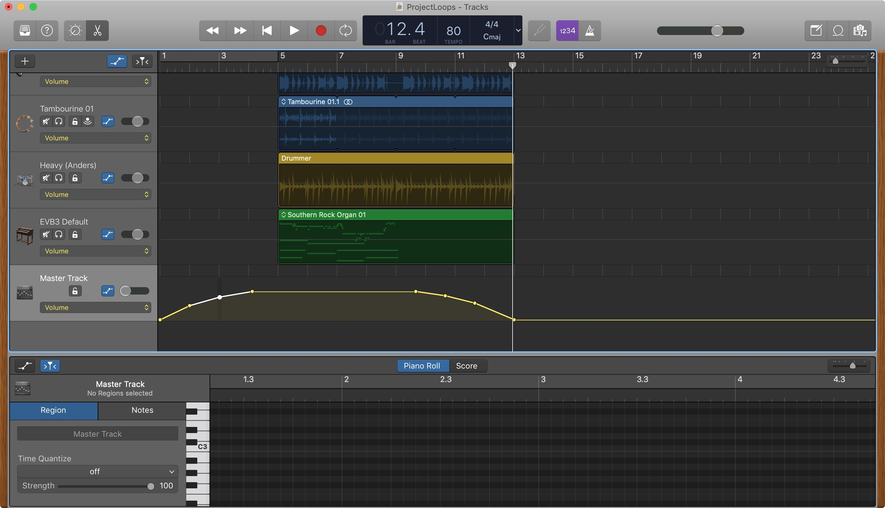 Fade Out Fade In GarageBand Mac