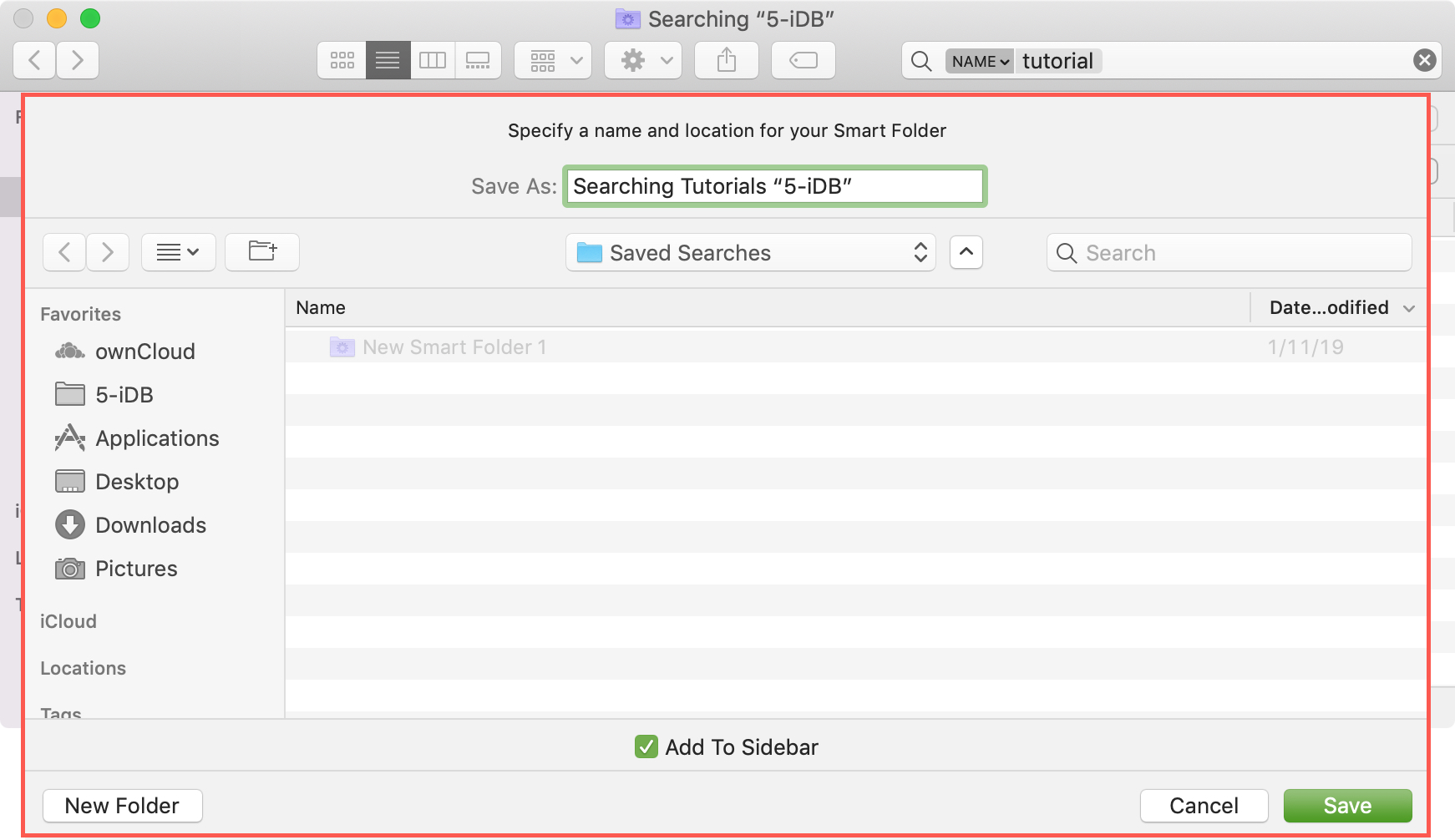 Finder Search Save Mac