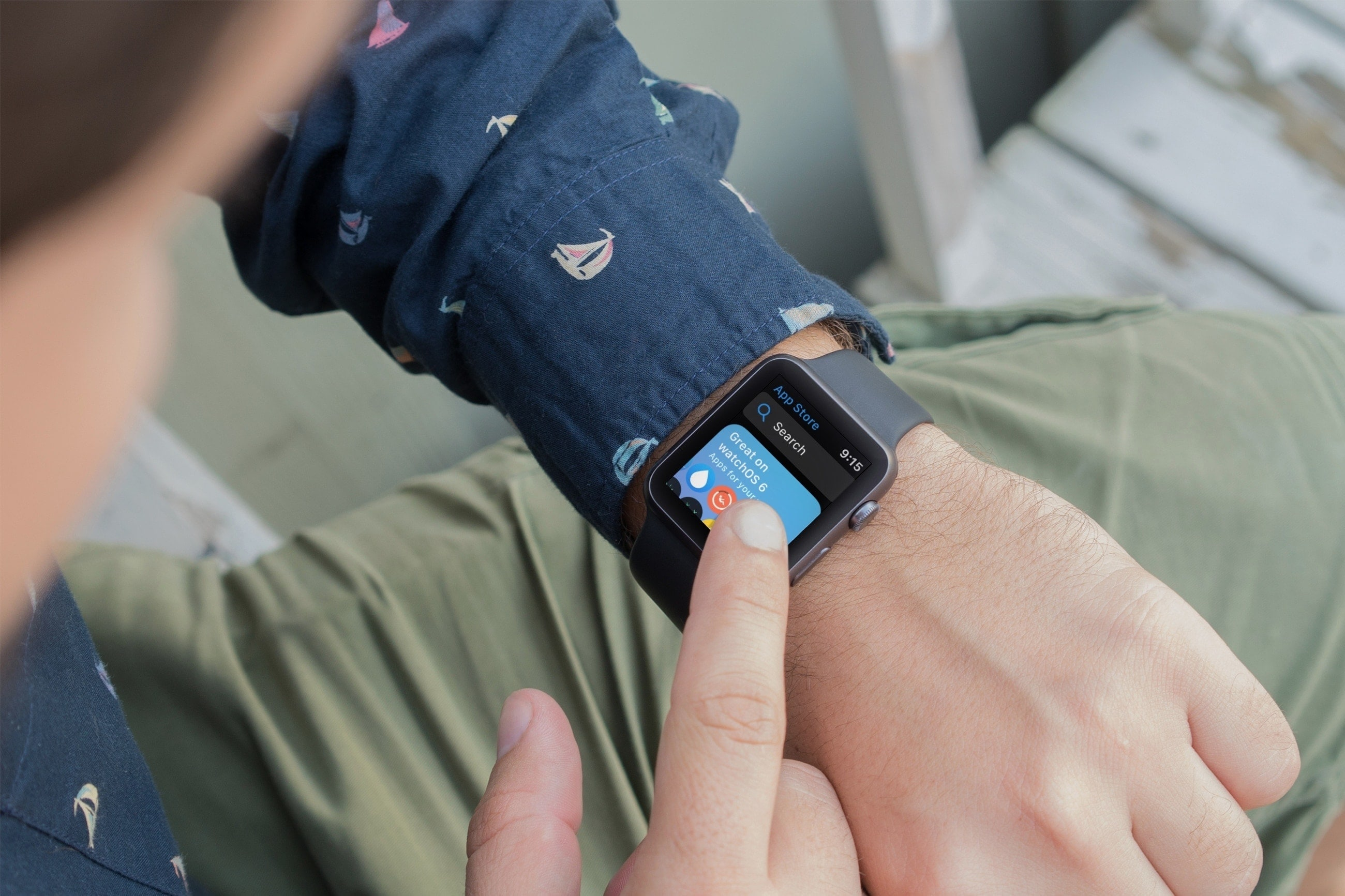 How to use Apple Watch App Store