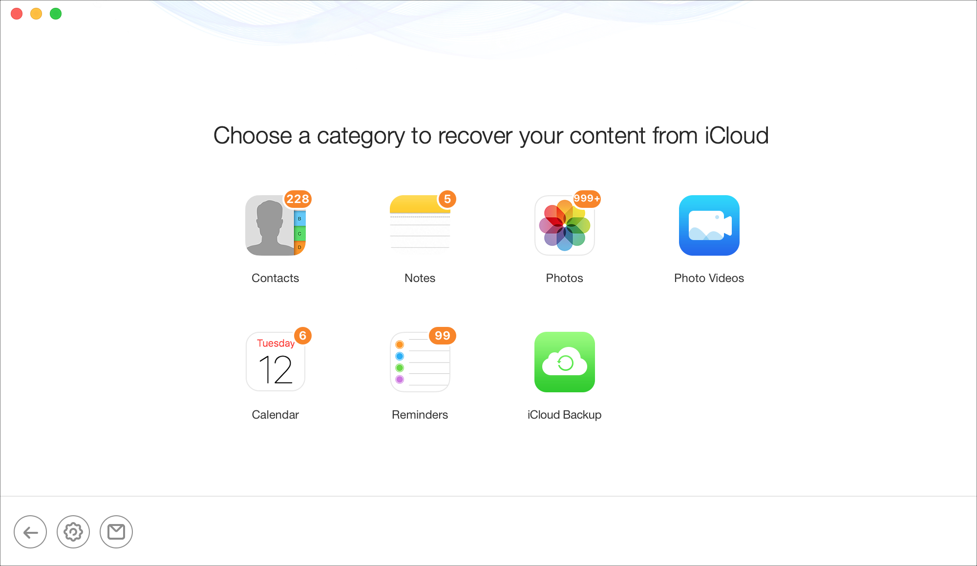 PhoneRescue iCloud Recovery