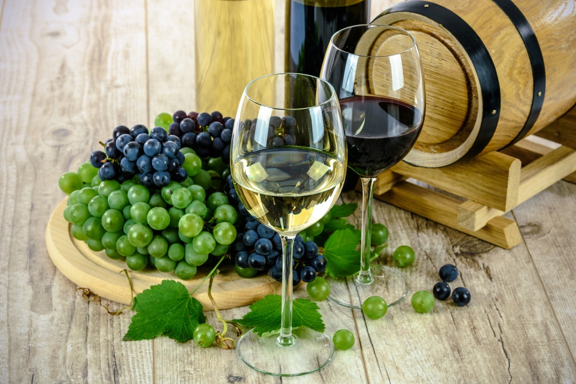 Wine and grapes - Best Wine Apps for iPhone