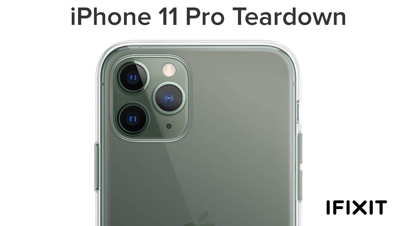 iFixit is tearing down the iPhone 11 Pro live on YouTube