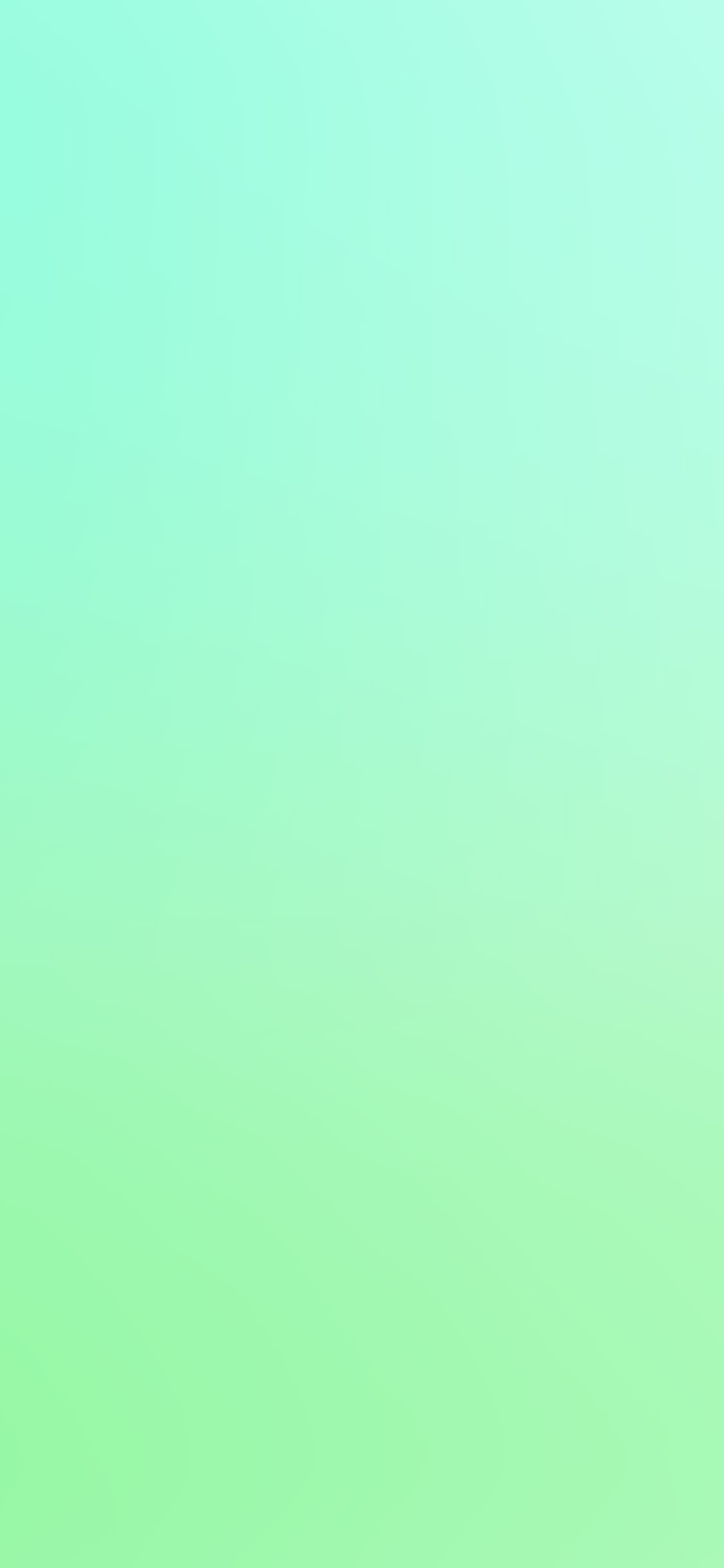 iPhone 11 wallpaper cool-pastel-blur-gradation-mint-green-iphone-X