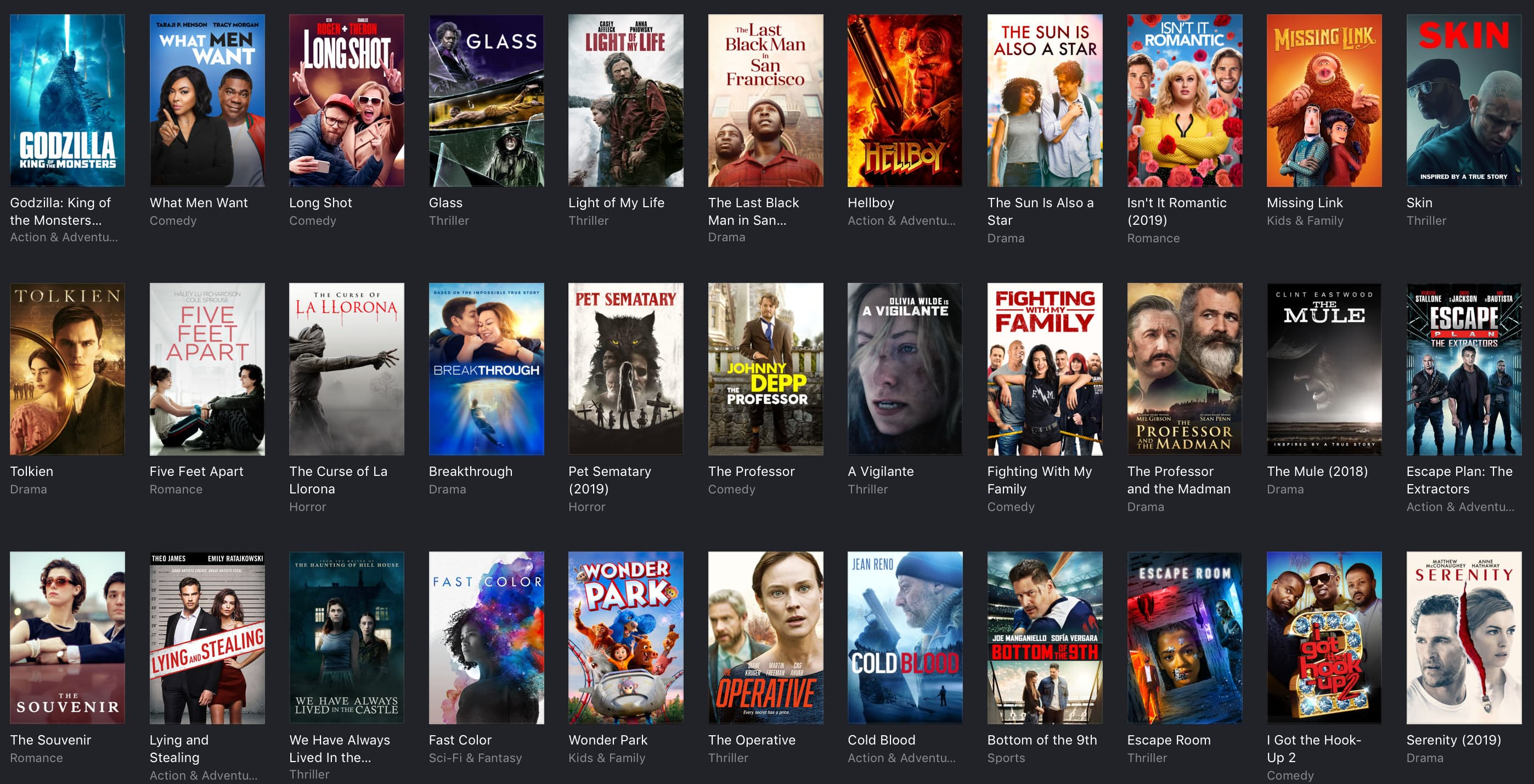 iTunes movie deals: Hellboy and Glass $10, Dazed and Confused $8, Kill Bill $5, and more