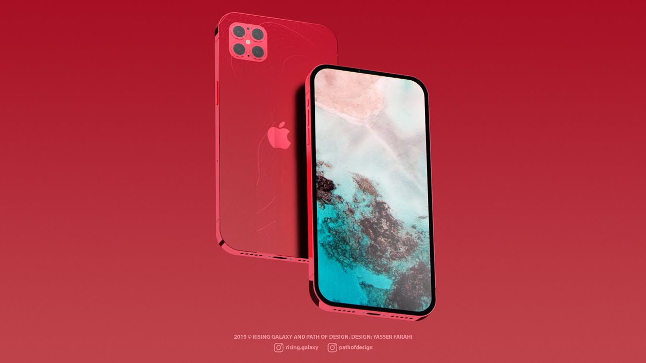 This 'iPhone 12 Pro' concept shows off four rear cameras, iPhone SE-inspired design, and more