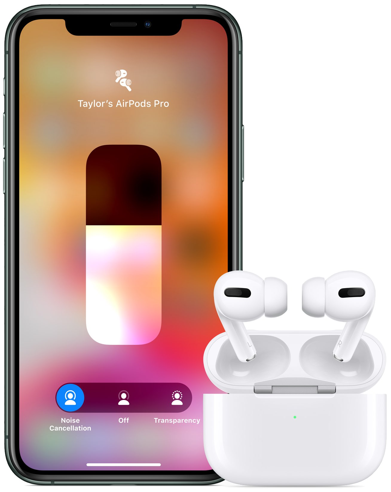 AirPods Pro controls