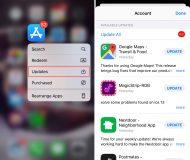 App Store Updates shortcut iPhone