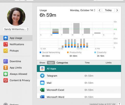App Usage Report Mac
