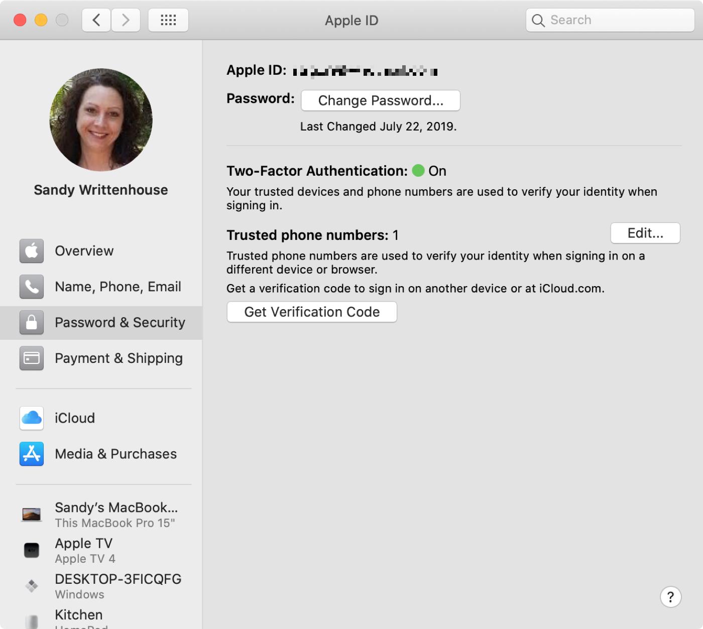 Apple ID Password Security