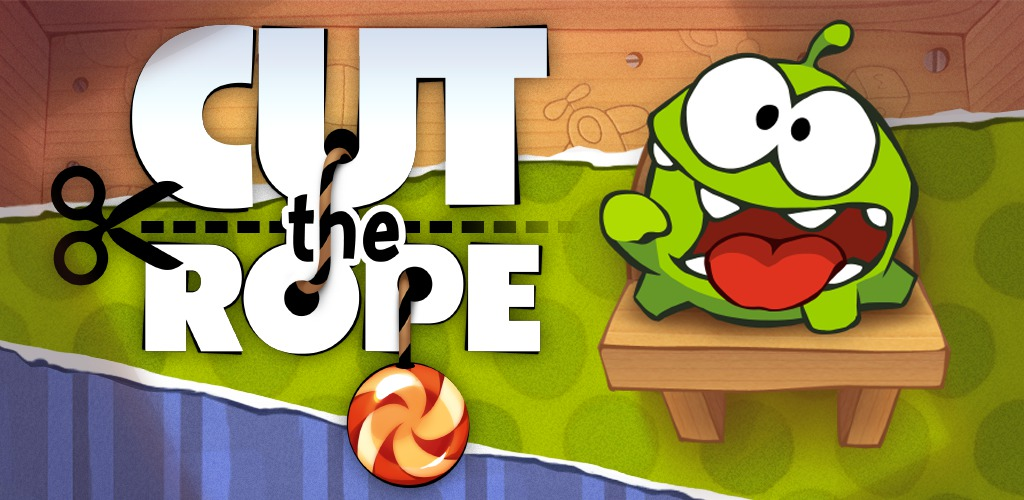 Cut the Rope title screen