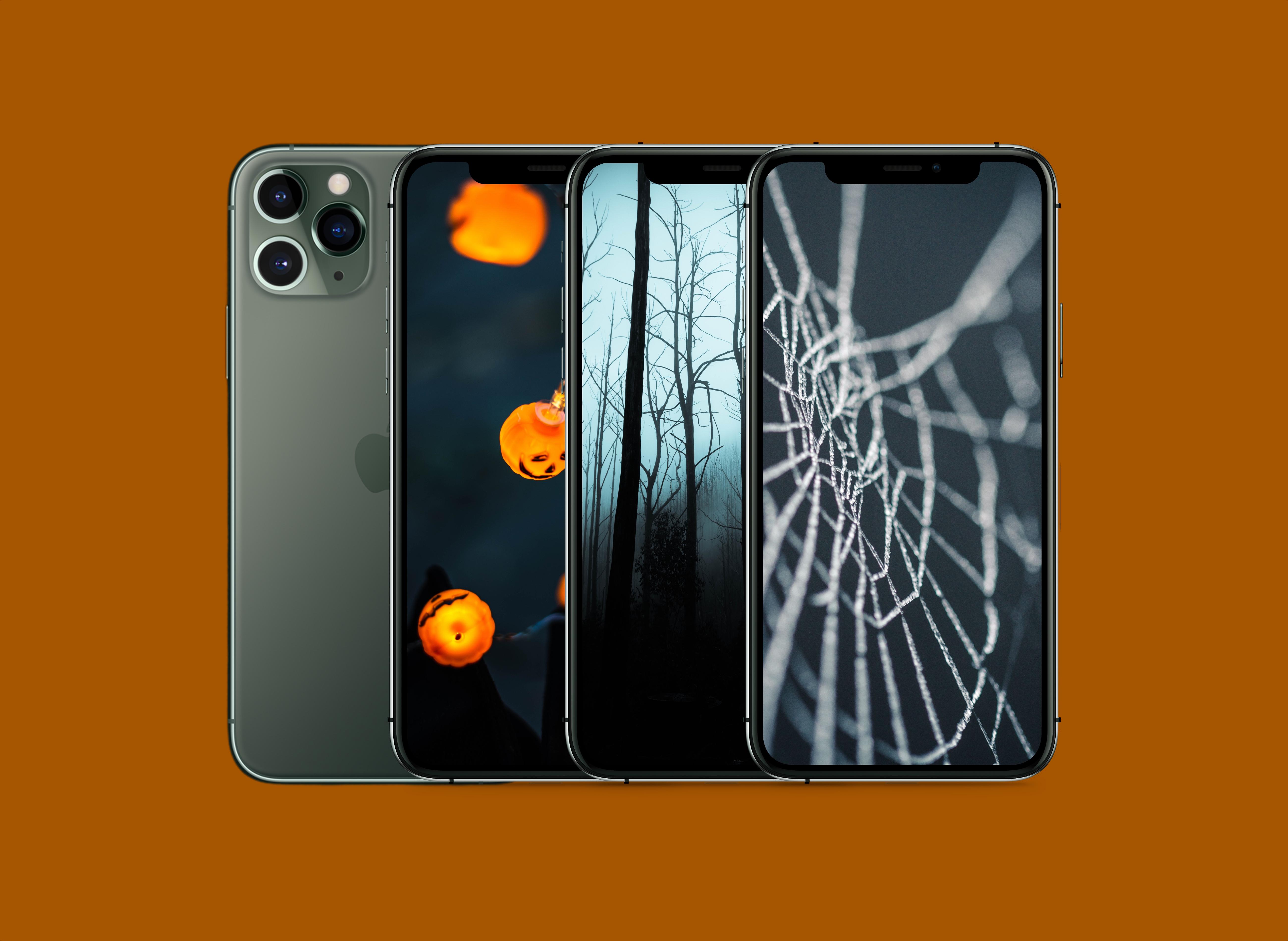 Minimal Halloween Iphone Wallpaper Pack