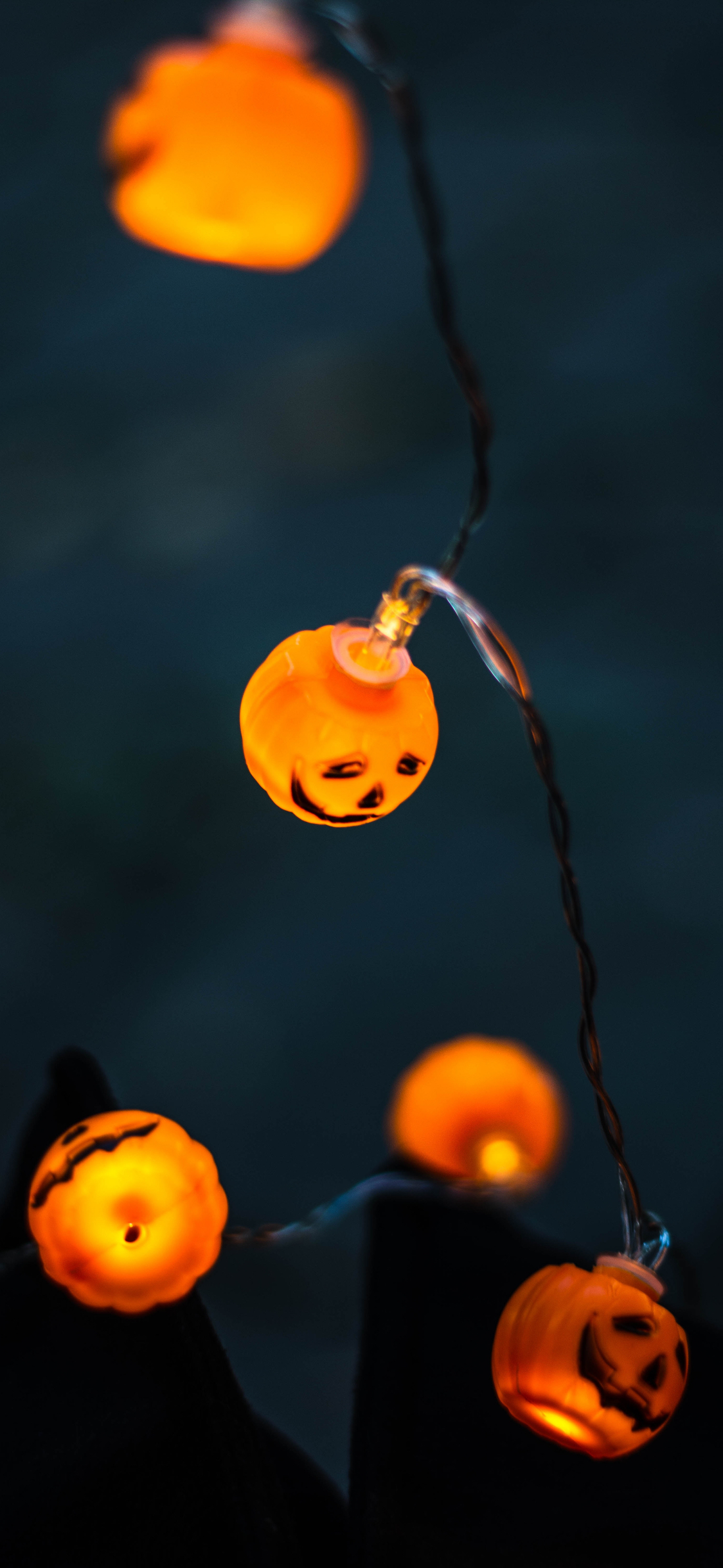 Halloween lights iphone wallpaper kristina tamasauskaite