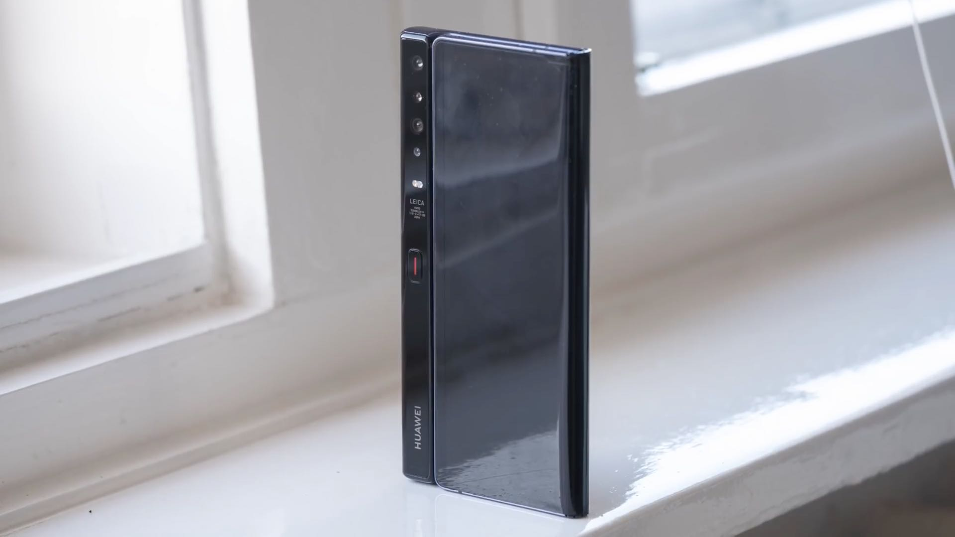 Huawei Mate X in full folded mode