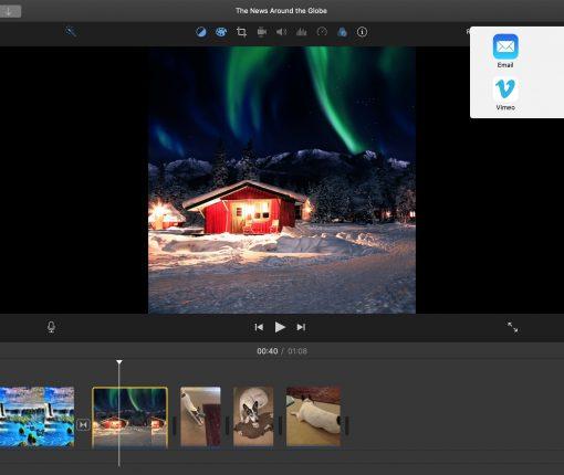 Share iMovie Project Mac