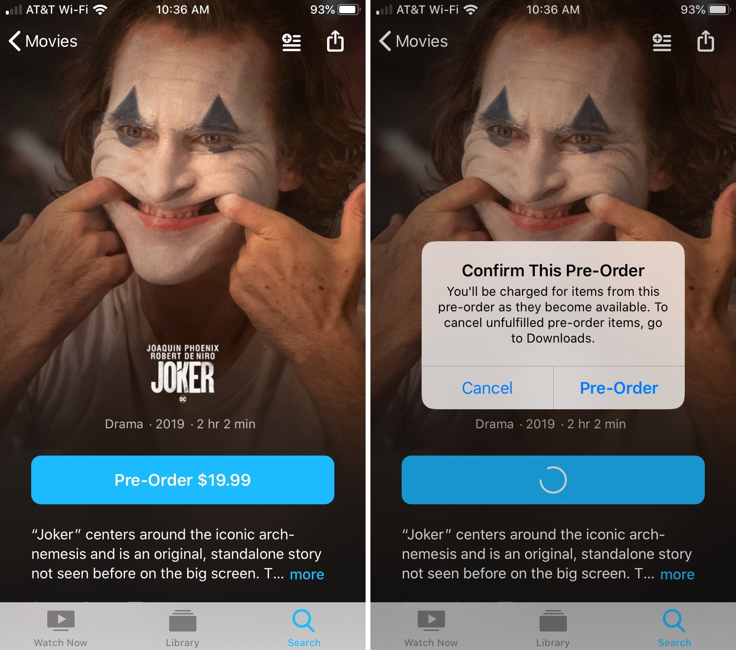 TV App Preorder iPhone