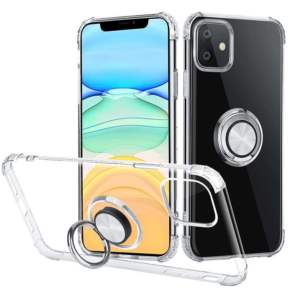 iMangoo clear keyring case for iPhone 11