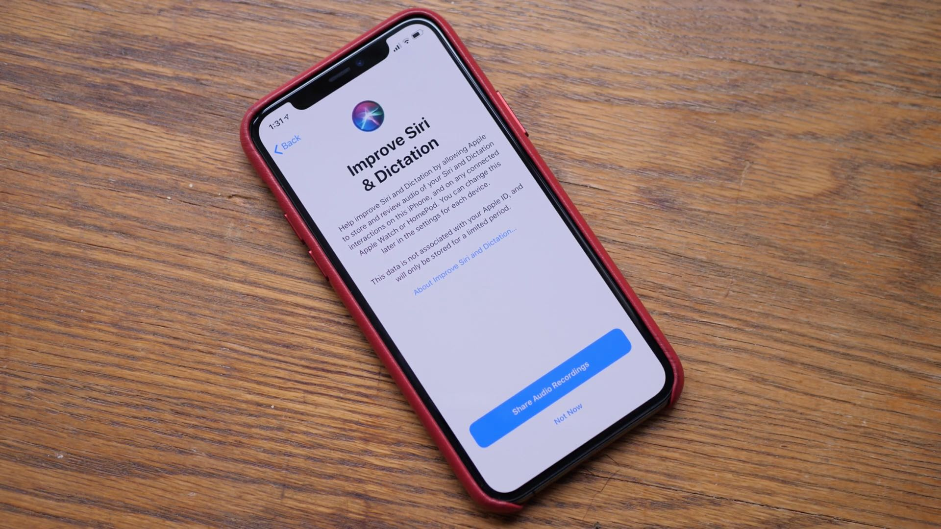 iOS 13.2 features improved Siri and dictation