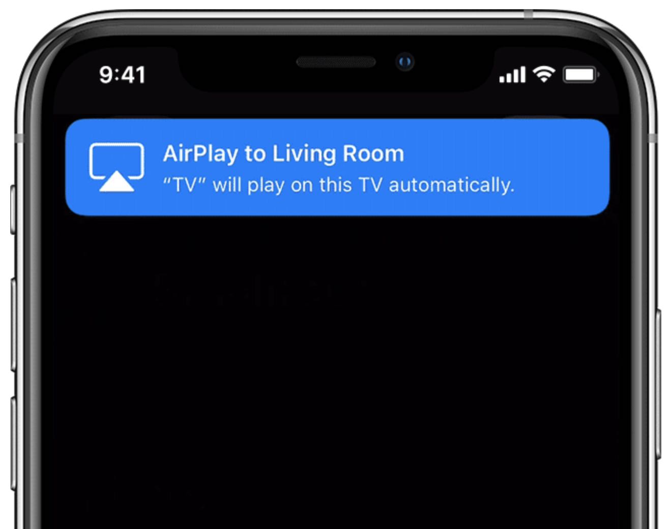 AirPlay TVs