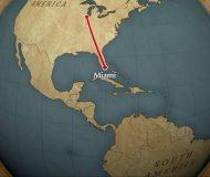 Animated map background iMovie Mac
