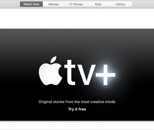Apple TV+ Try it free