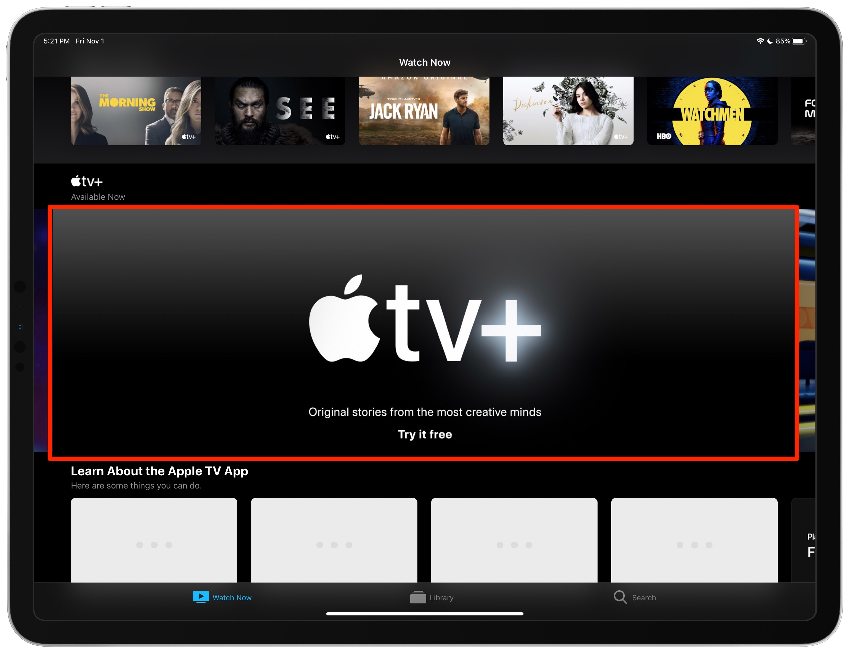 Free Apple TV+ trial