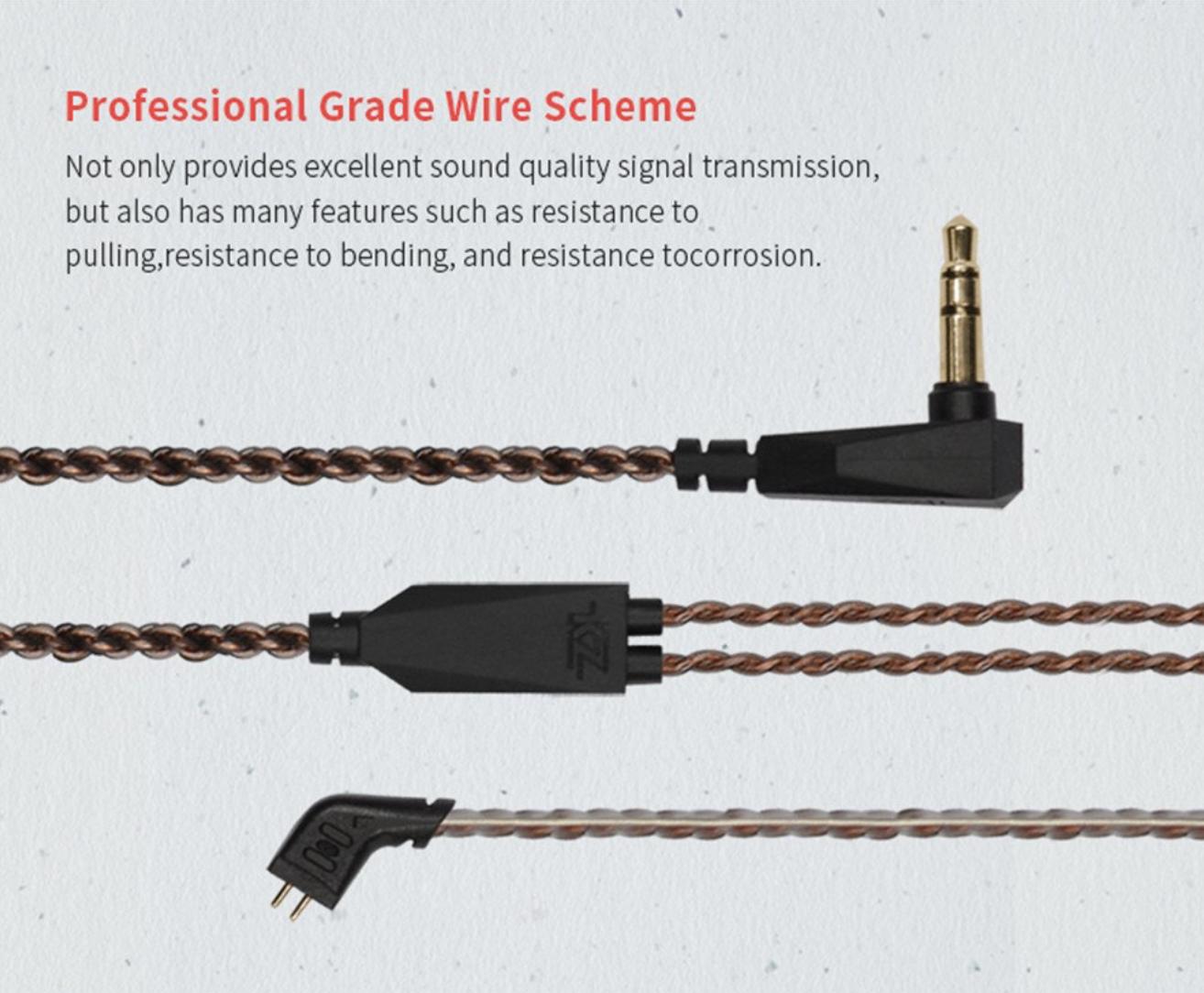 KZ-ZST wire info