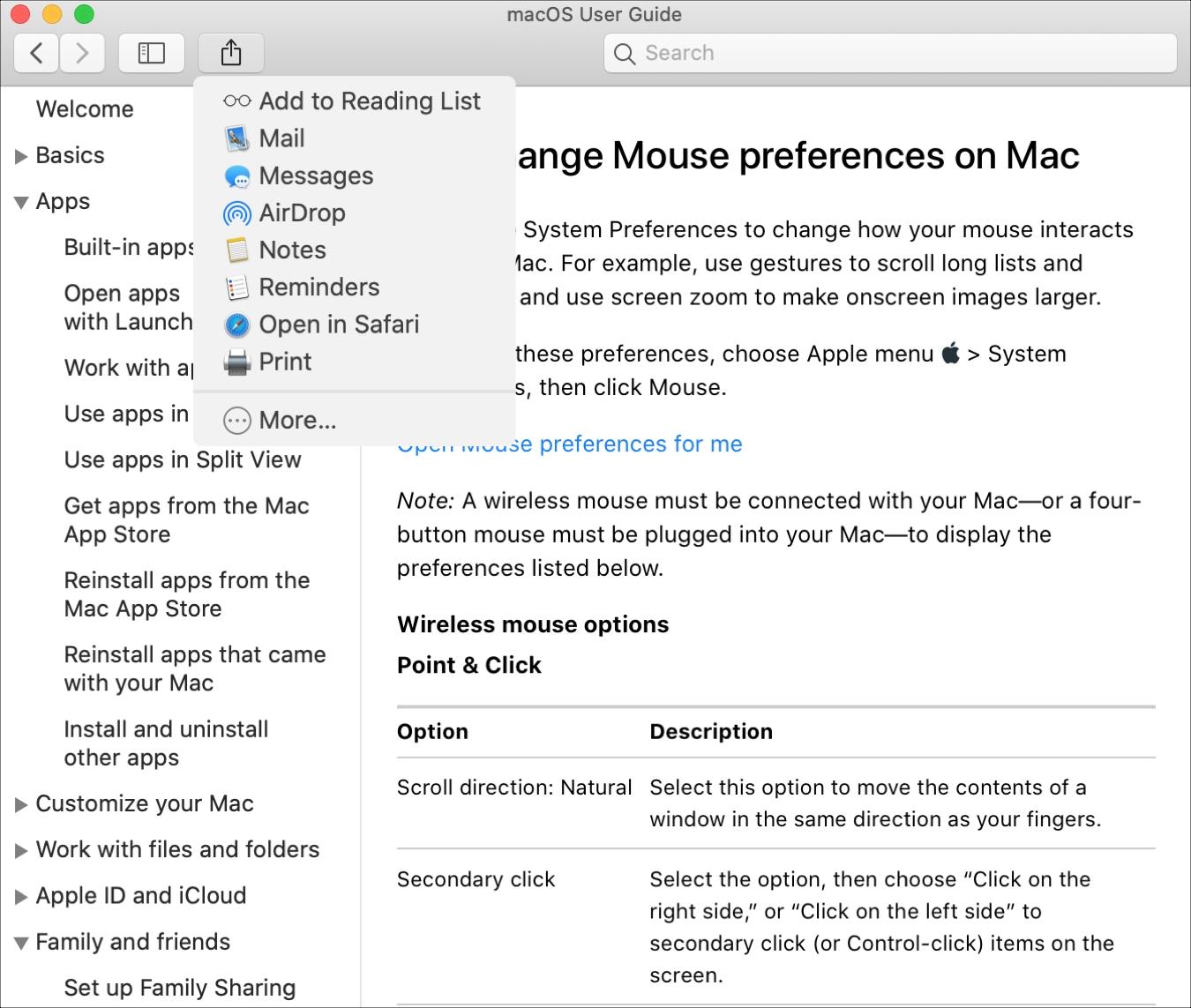 Mac Help Share