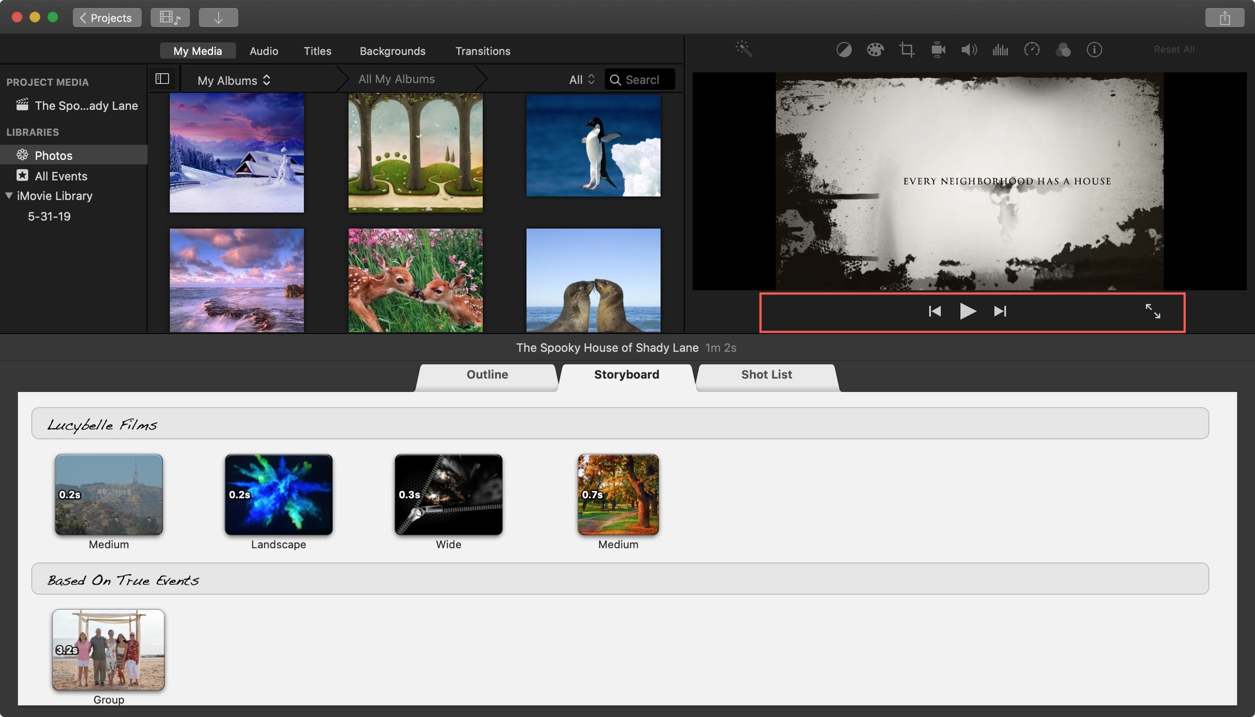 Play iMovie Trailer Mac