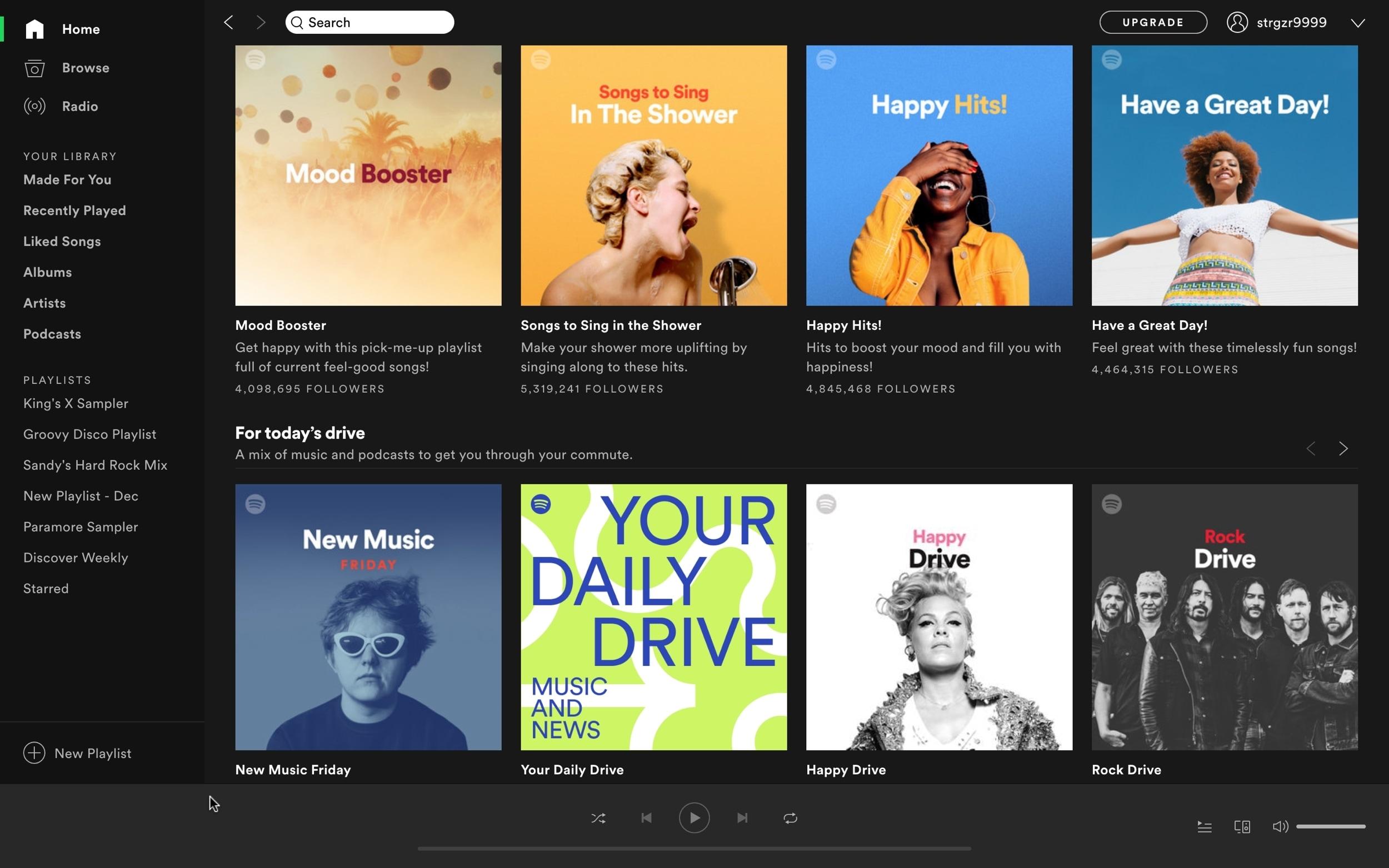 Spotify Home Mac