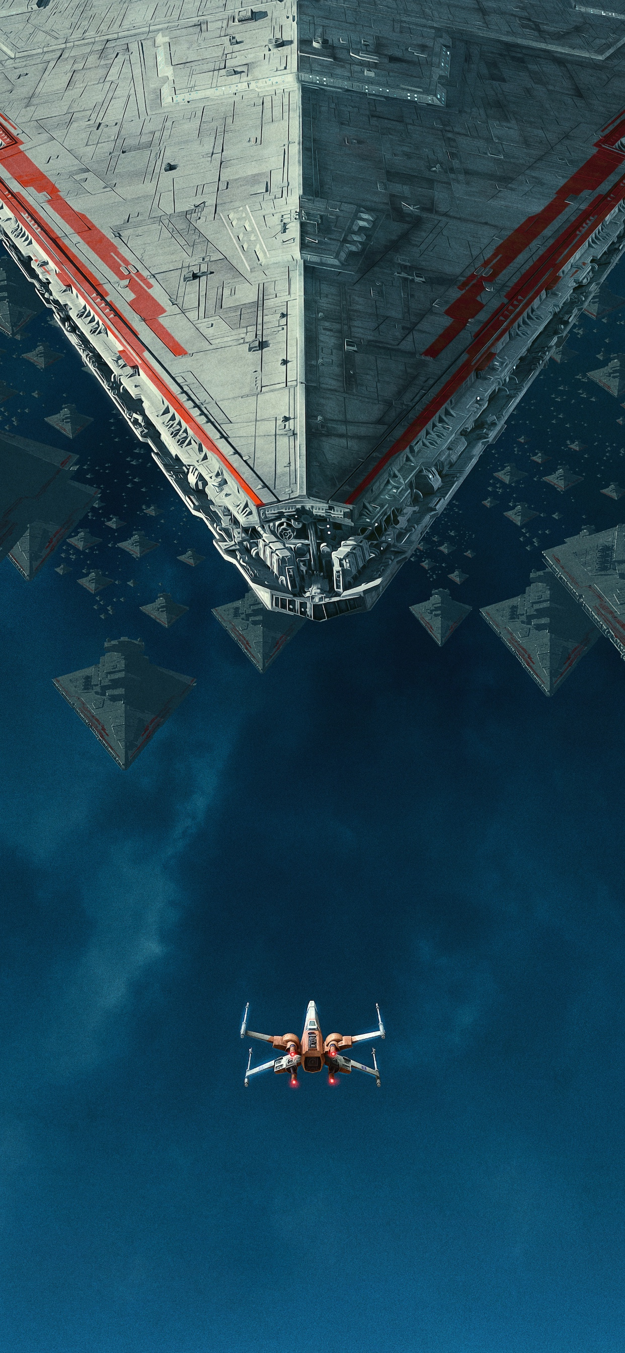 Star Wars Rise of Skywalker Dolby Poster iPhone wallpaper no logo