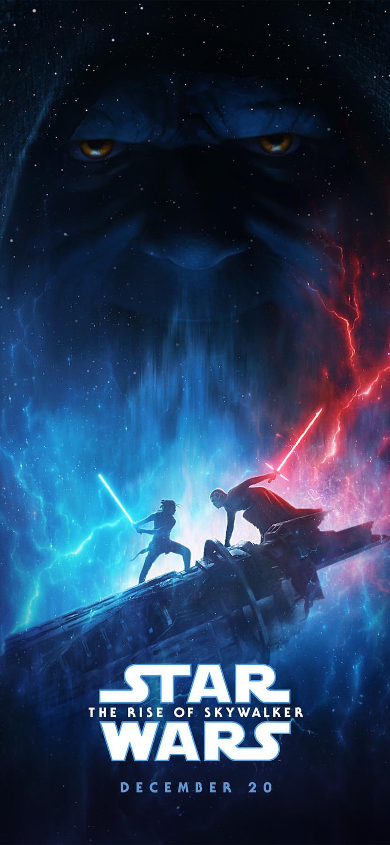 Star Wars Rise of Skywalker Emporer iPhone wallpaper