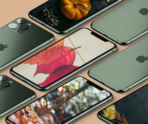 Thanksgiving iPhone iDownloadBlog mockup