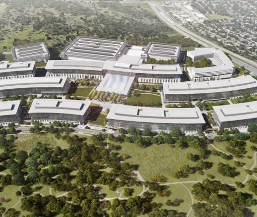 Apple Austin Campus render