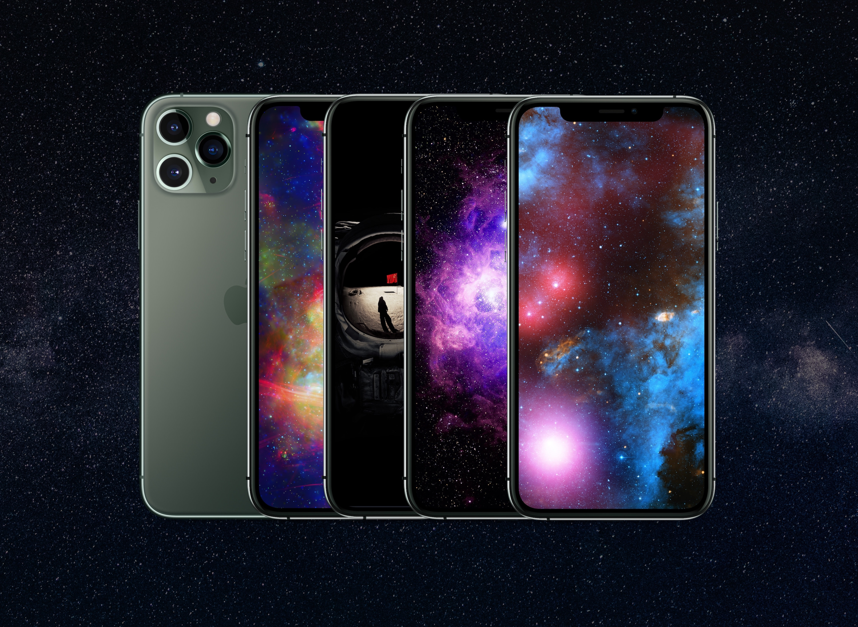 galaxy wallpaper chandra observatory mockup b