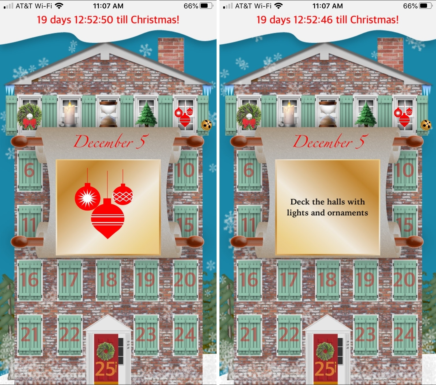 Advent Calendar iPhone Apps