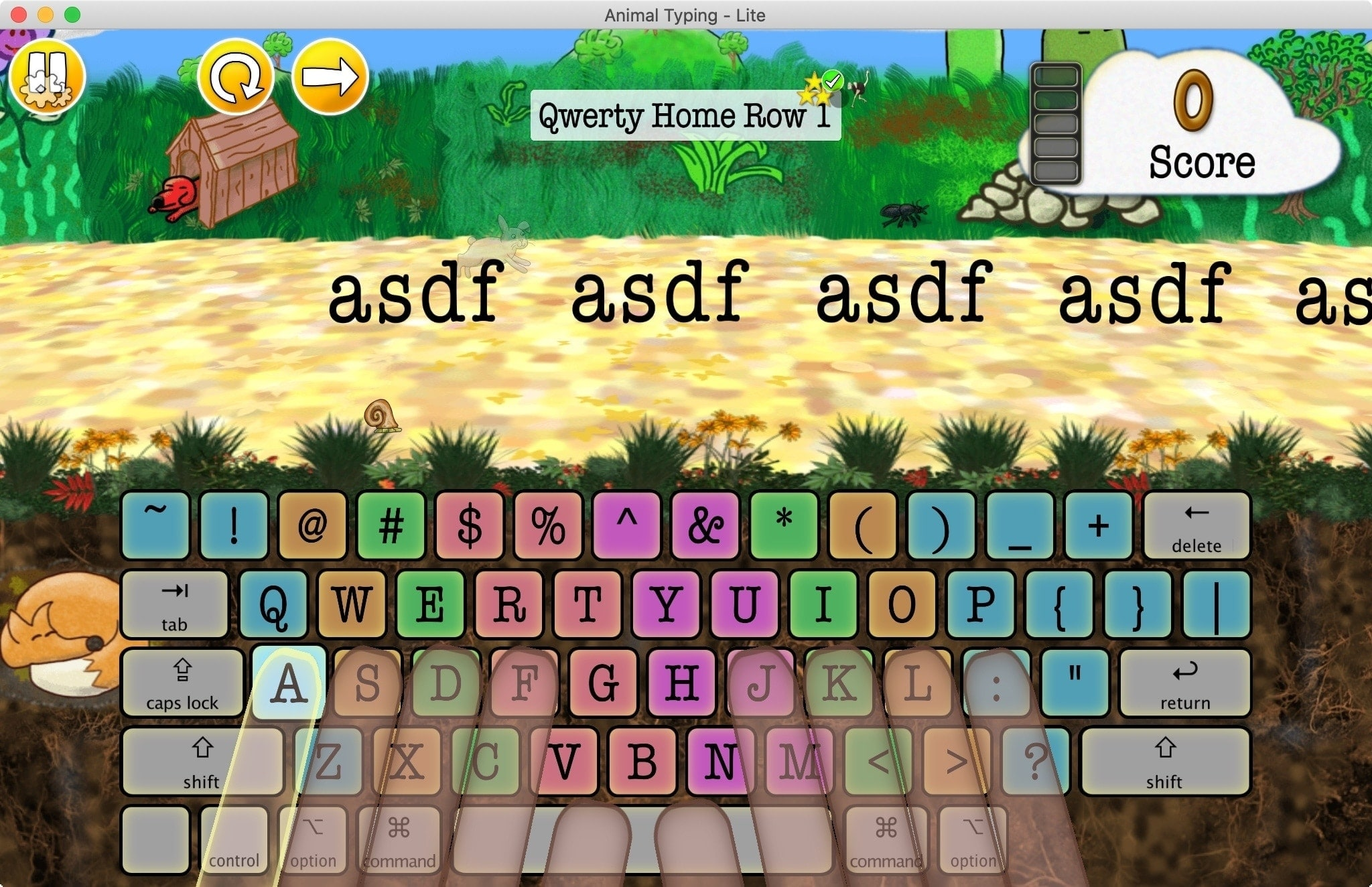Animal Typing Mac