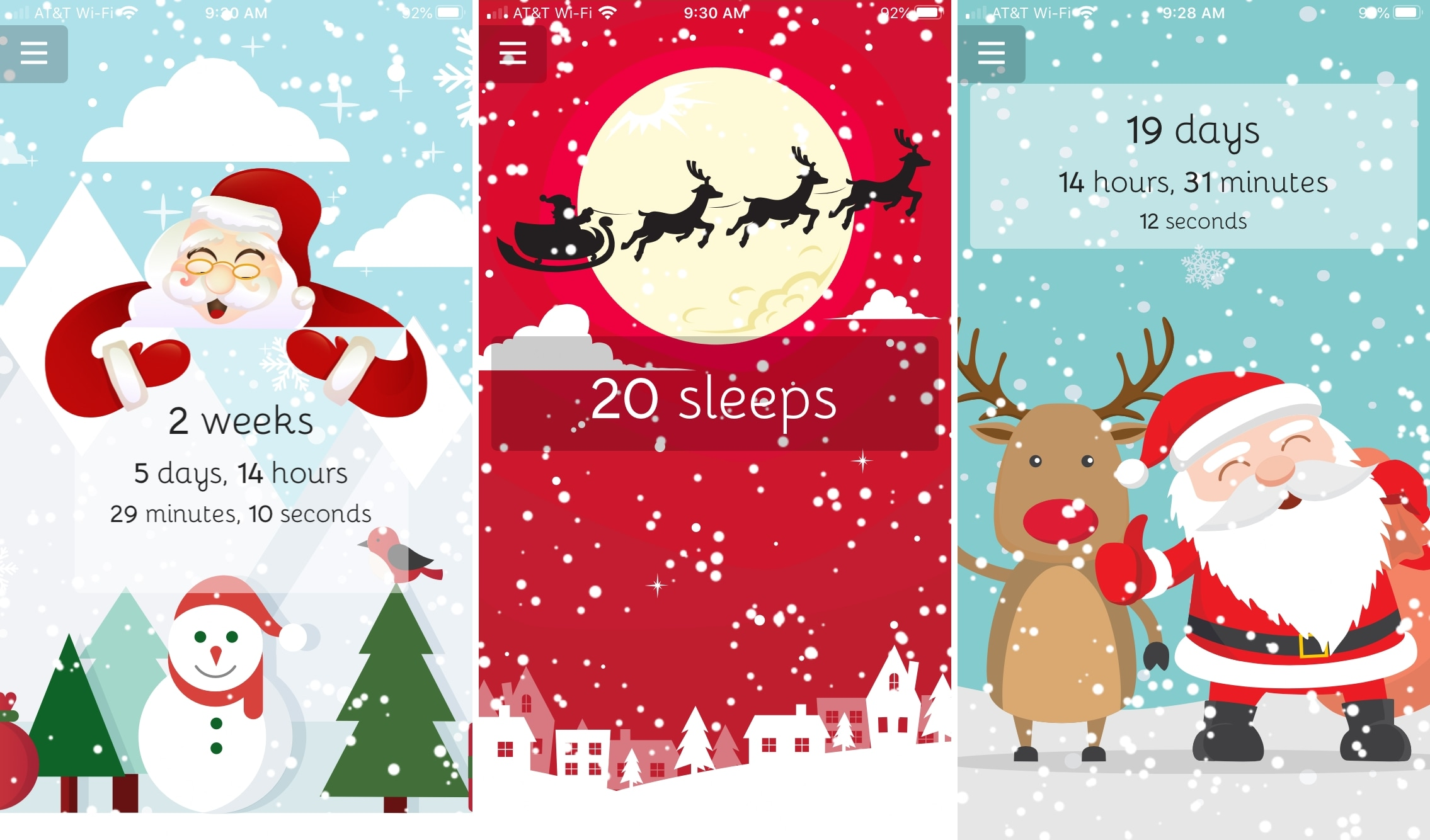 Christmas Coundown iPhone Apps