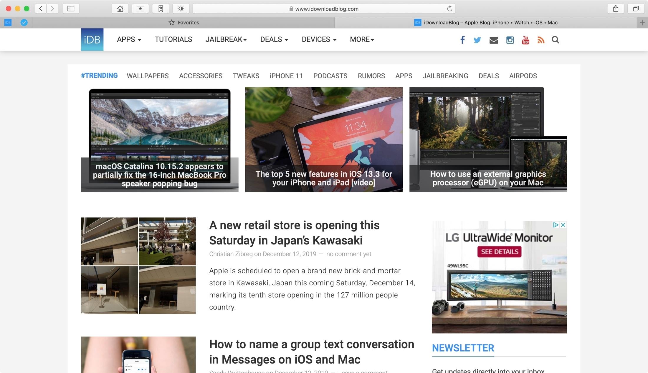 Customize Safari on Mac