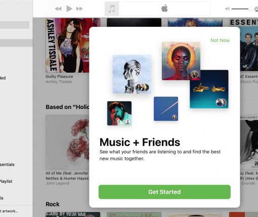 Music and Friends Apple Music Mac
