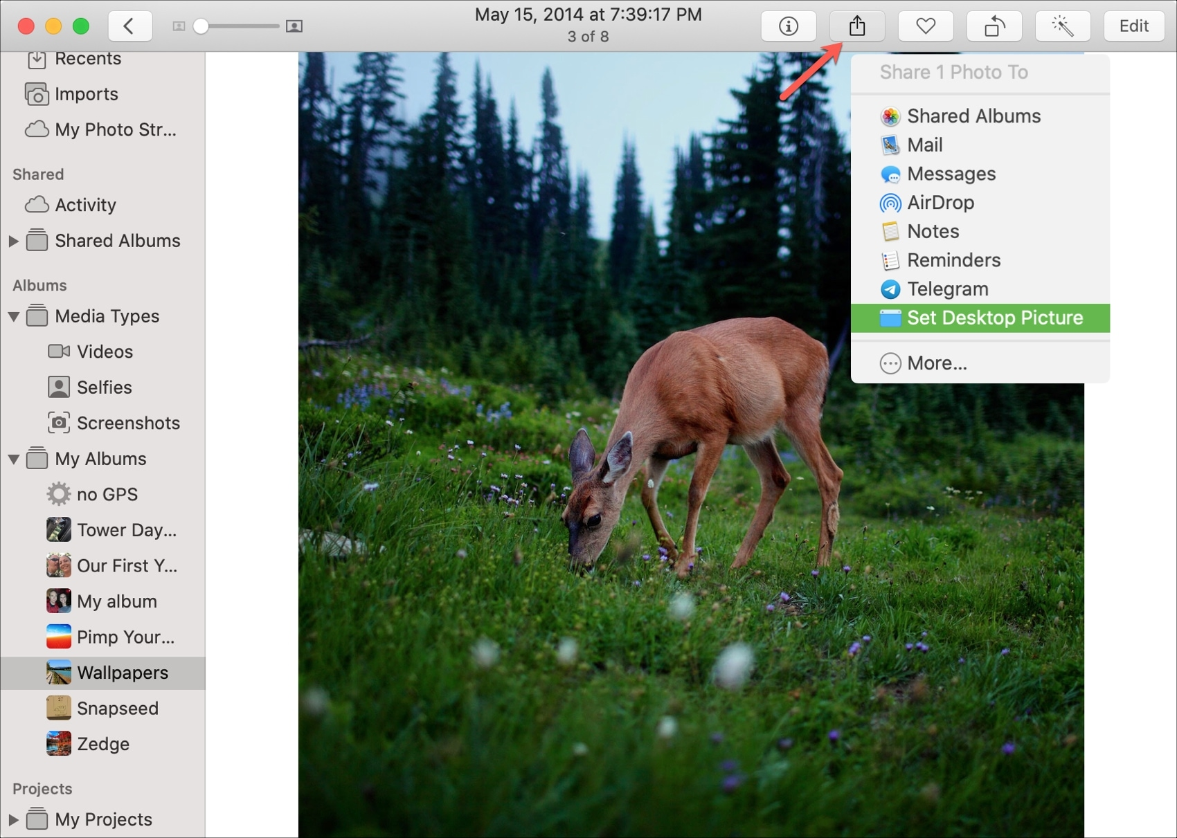 Set Desktop Picture Photos Mac