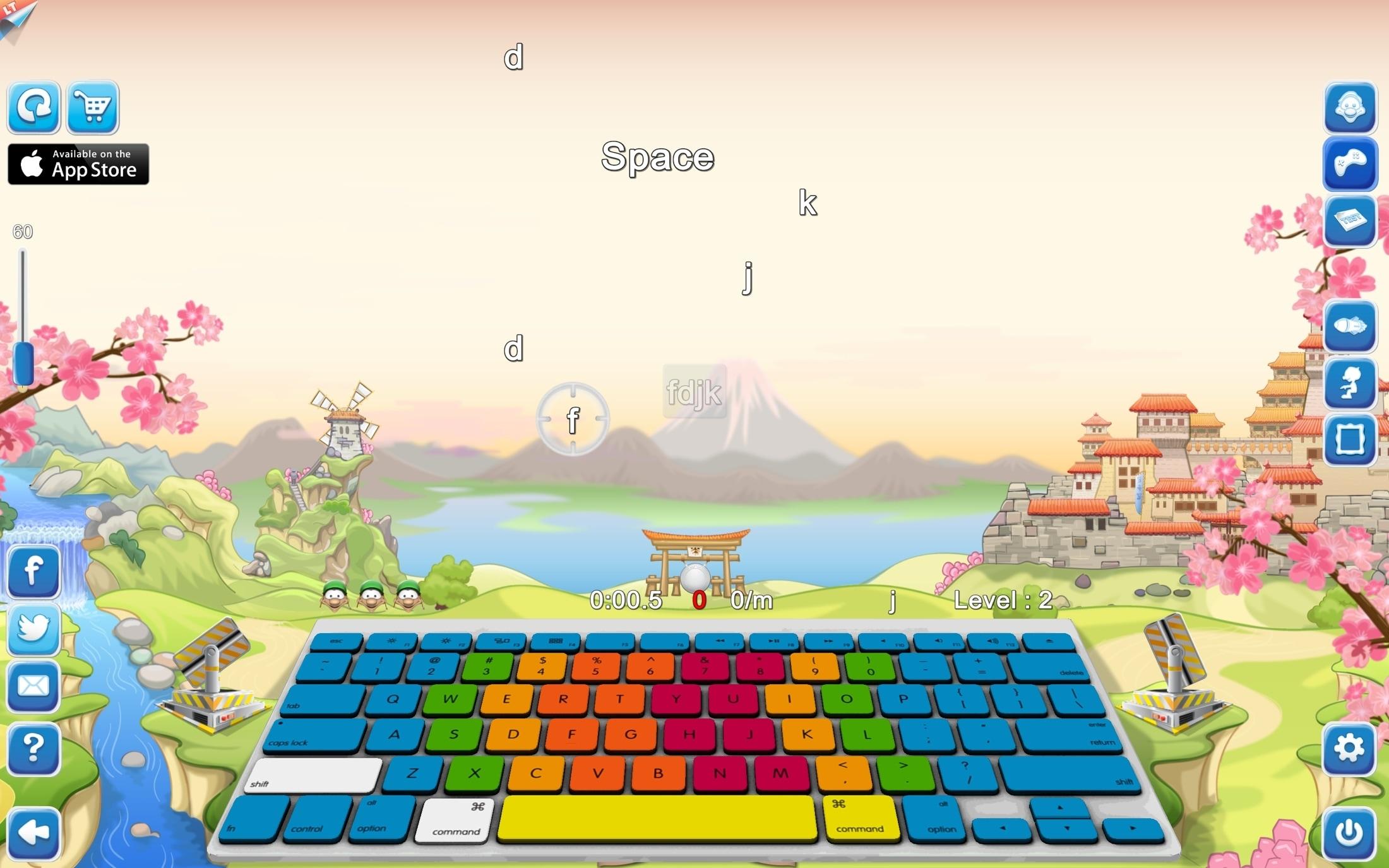 Typing Fingers LT Mac