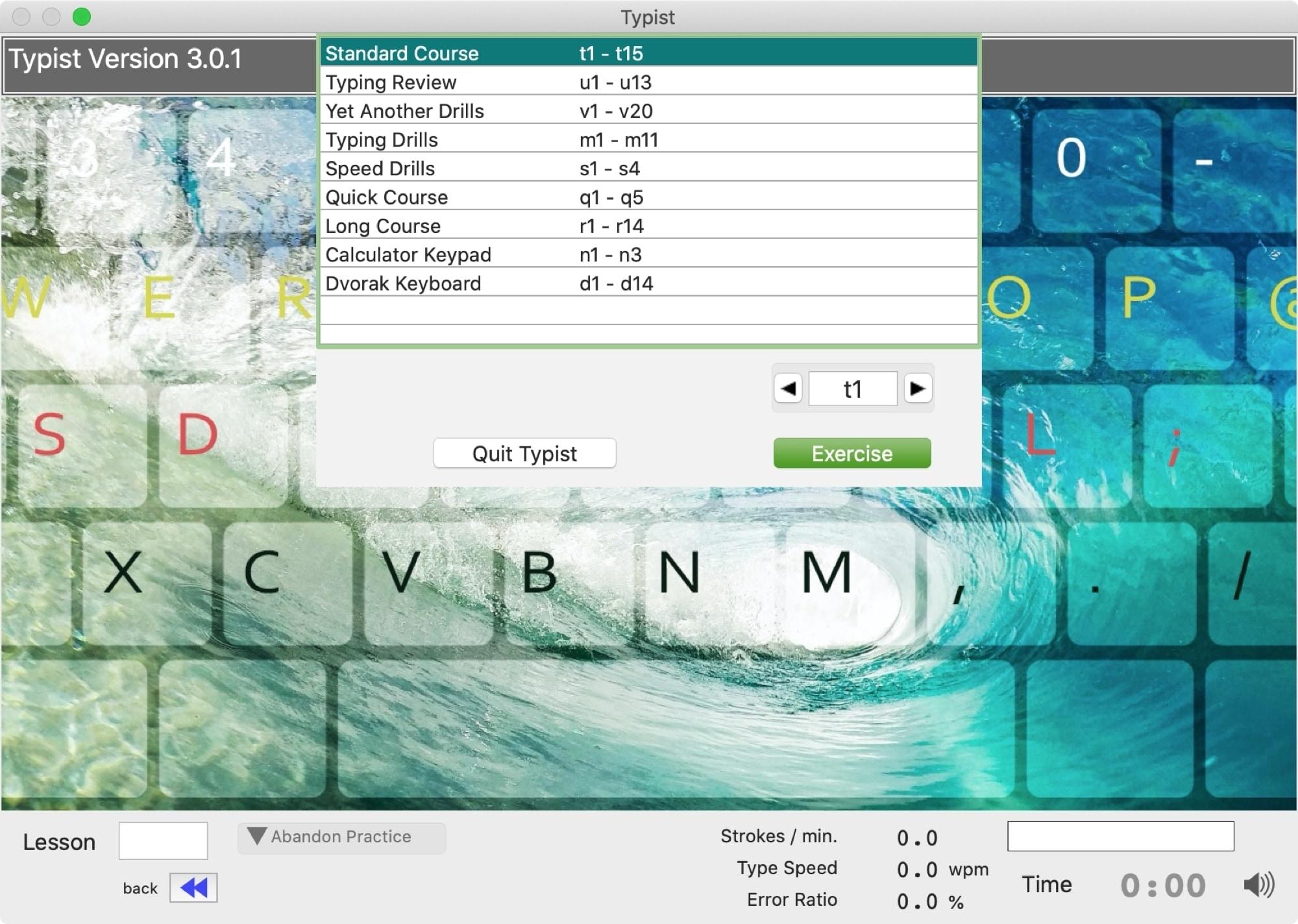 Typist app Mac