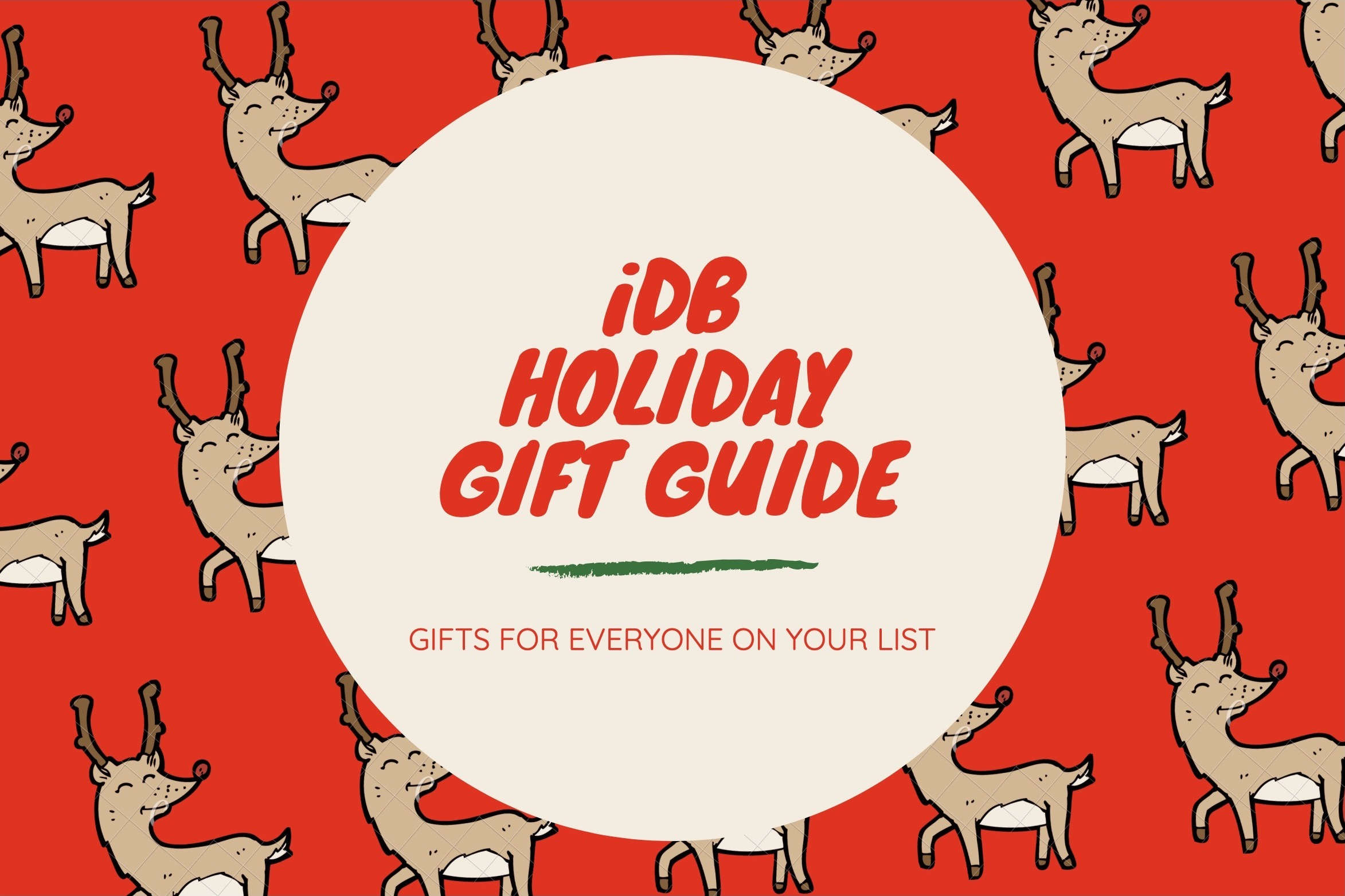 iDB Holiday Gift Guide