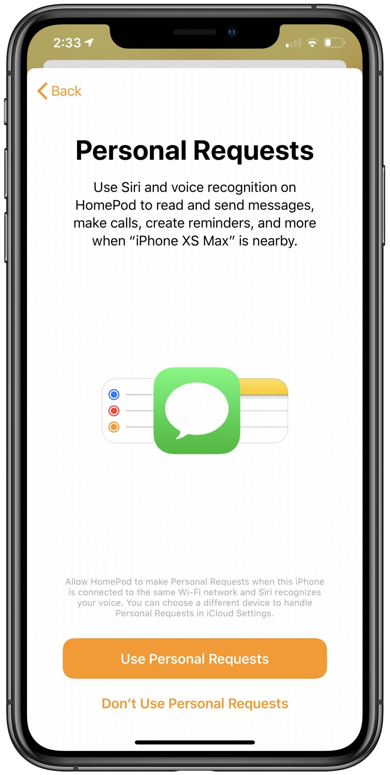 HomePod voices