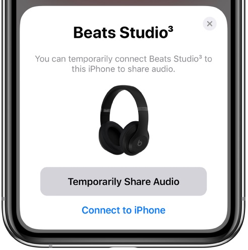 share audio with Beats