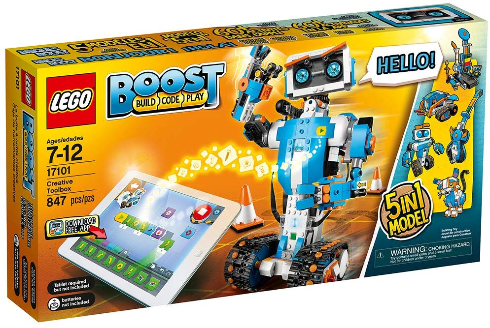 lego robot kit for kids 2019 holiday gift guide